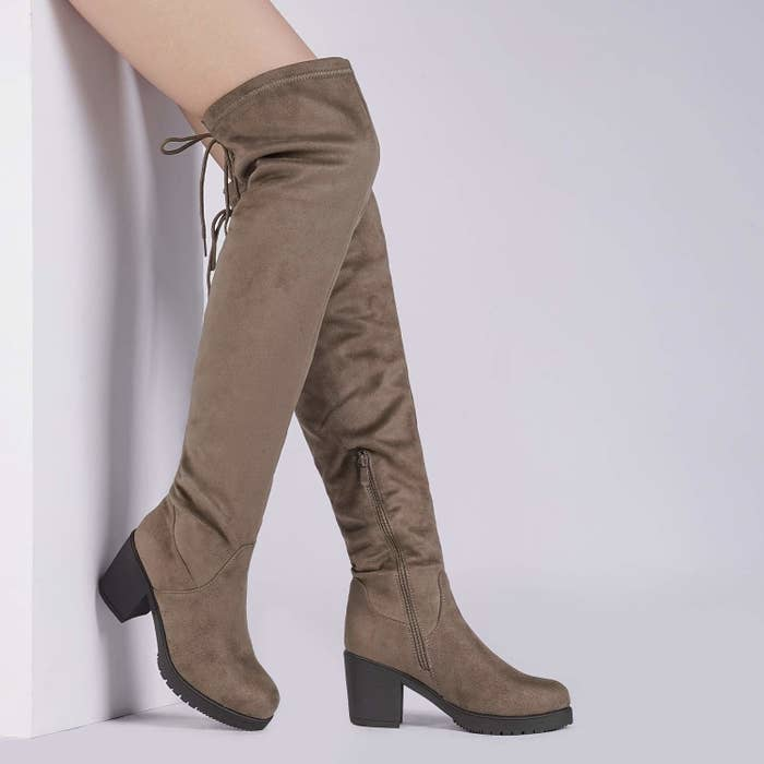 d77c2820ddeb3 And a pair of over-the-knee boots, because you need all the extra layering  you can get.