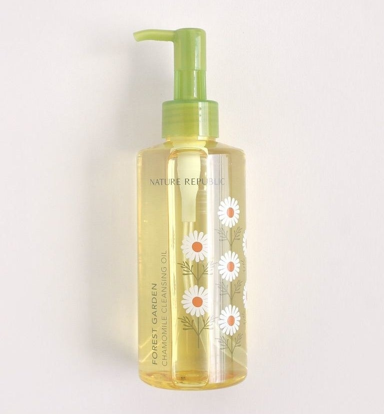 """It also serves as an anti-inflammatory aka what will reduce those pesky breakouts. Promising review: """"I really cannot say enough good things about this product! I went from dry, flaky skin to supple and soft skin and am so happy with the results! This is hands-down THE best face wash I have ever used. I wish I would have known about it way before now. I use two pumps and that seems to be plenty to really cover my face and remove my makeup. I'm so, so happy with this purchase and will definitely be buying again!"""" —NiftyNestGet it from Amazon for $12+ (available in three formulas).Want to learn more about the benefits of oil cleansing? Check out """"I Tried A Korean Skin Care Routine For A Month And This Is What Happened""""."""
