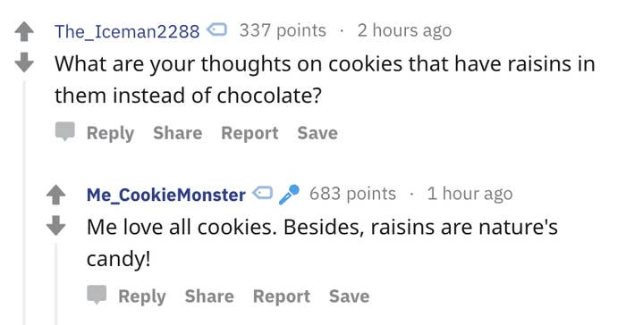 Cookie Monster's Reddit AMA Answers Are So Precious And Pure