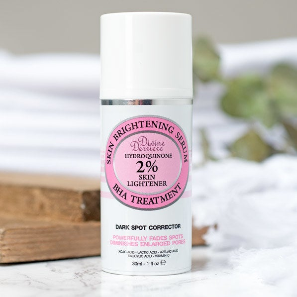 """Promising review: """"This is an amazing product to lighten old acne scars! I am almost 40, but have dealt with hormonal acne along my jawline since my teens. I have plenty of reddish purple scars on my very fair skin. The combination of ingredients in this product has helped exfoliate the old scars and dramatically lightened their appearance! My pores appear smaller and my skin feels incredibly smooth when applying lotion. While using this product, I have been able to use only my mineral powder and NO CONCEALER! Fabulous! I'm so happy to have found this!"""" —EWGet it from Amazon for $21.99."""