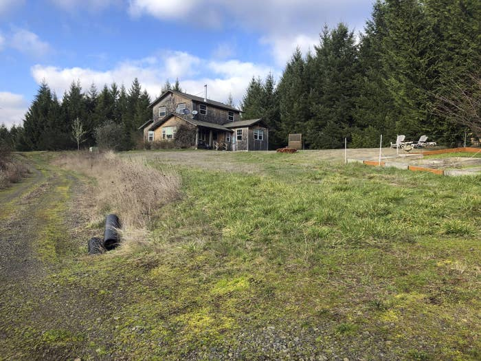 A rural hilltop property in Carlton, Oregon, where state and federal authorities say Koester drugged and sexually assaulted models and aspiring models he worked with.
