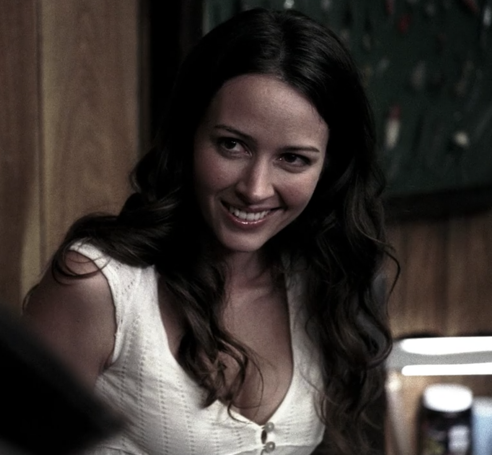 Angel  and  The Gifted  star Amy Acker guest-starred in Season 1 as Andrea, a widow who was being haunted by a spirit.