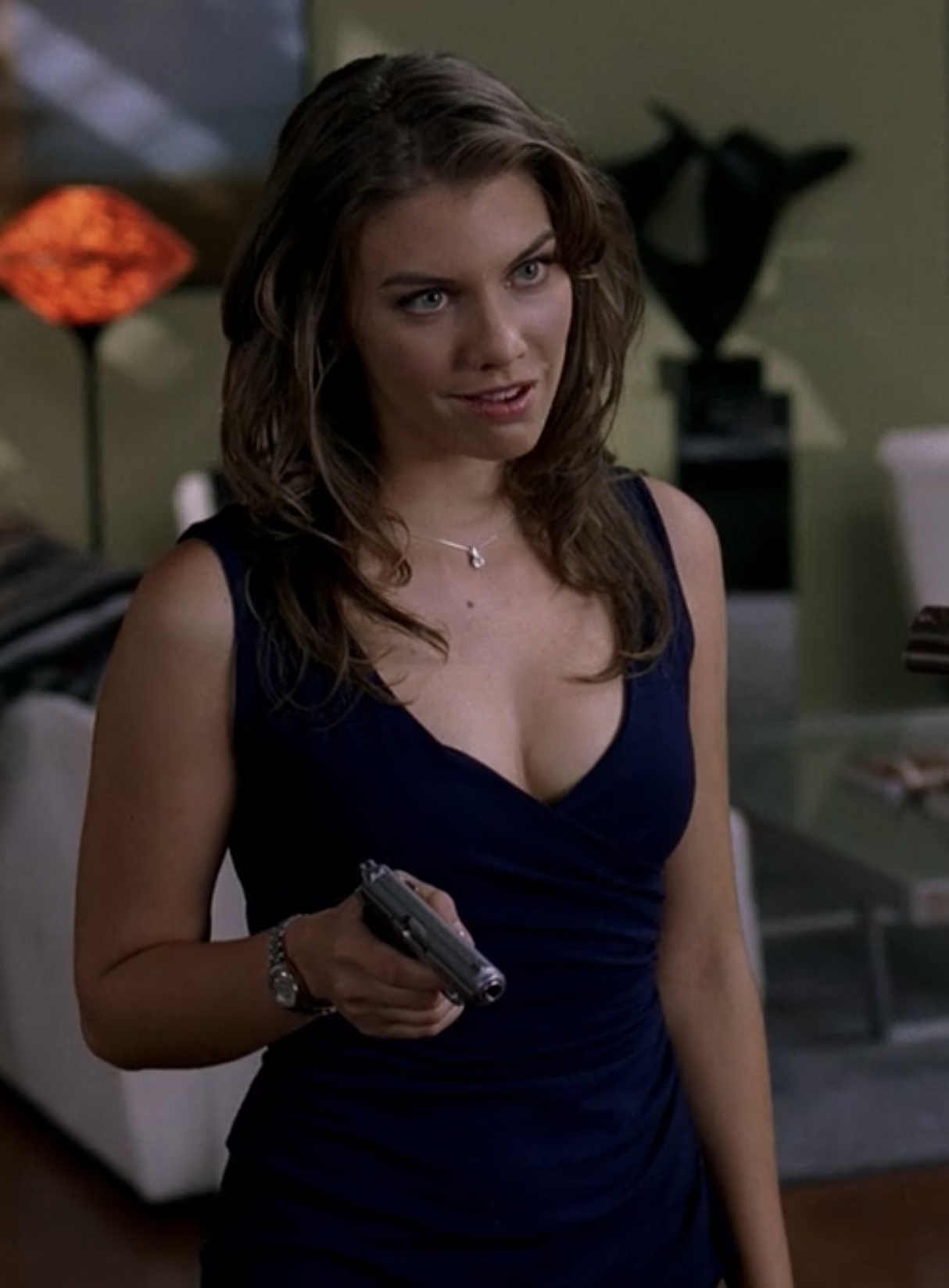 Before playing Maggie on  The Walking Dead , Lauren Cohan appeared in several episodes of  Supernatural  as Bela Talbot, a con-artist and thief.