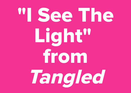 """""""I See The Light""""<br />from <i>Tangled</i>"""