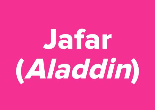 Jafar (<i>Aladdin</i>)