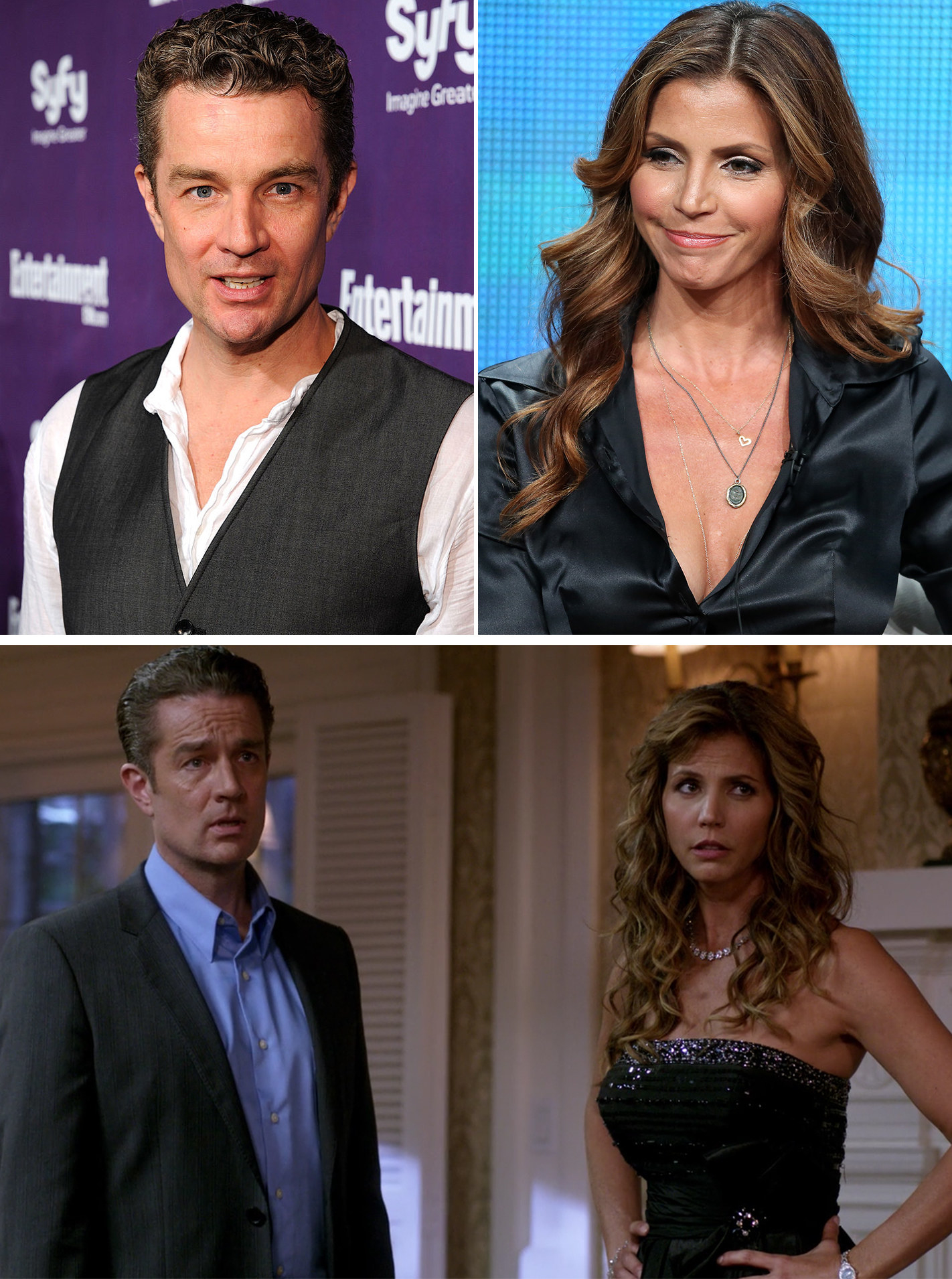 Buffy the Vampire Slayer  stars James Marsters and Charisma Carpenter reunited for an episode where they played married witches.