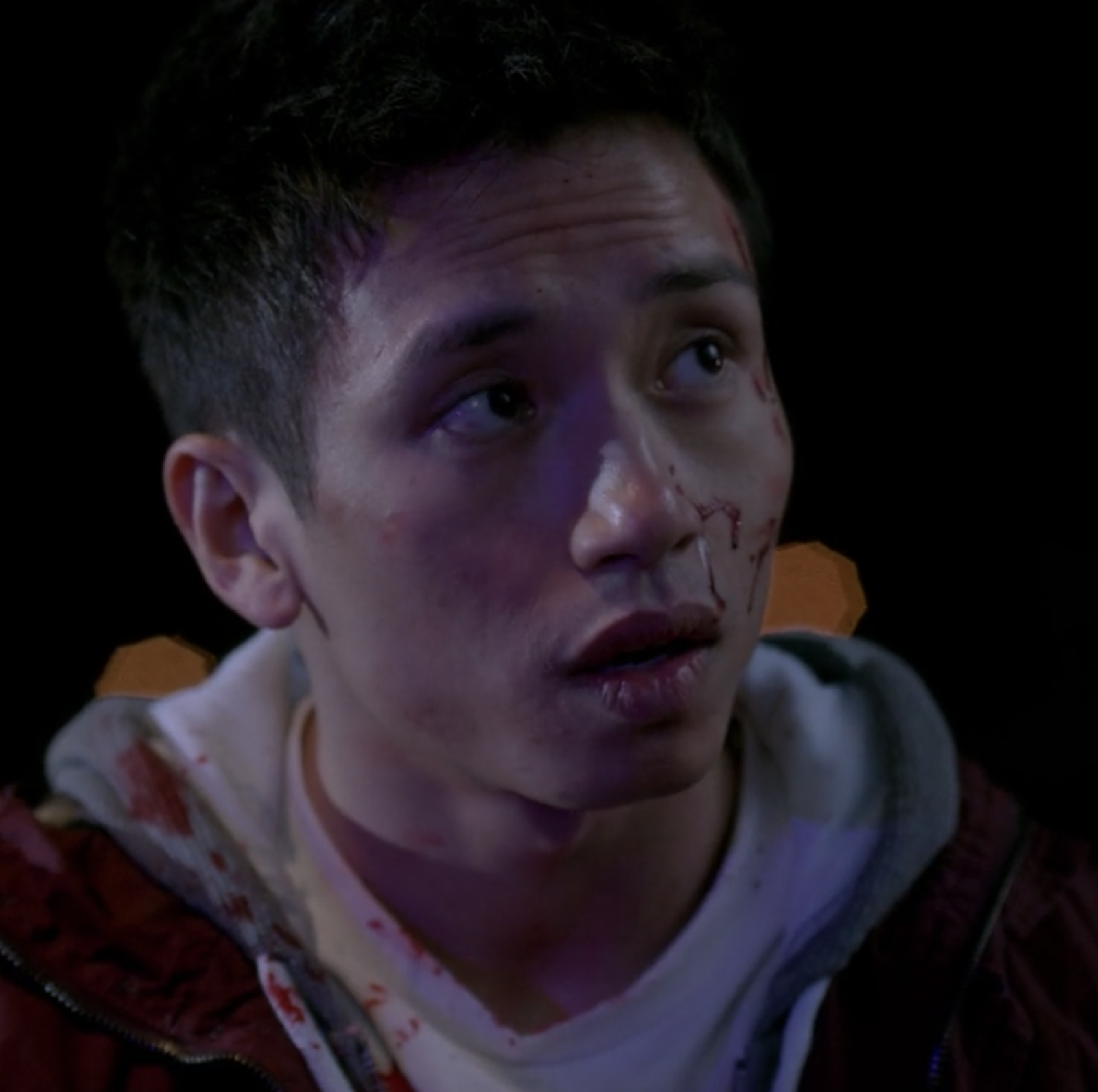 Before playing Jason on  The Good Place , Manny Jacinto appeared in Season 8 of  Supernatural  as a teenager who found a dead body.