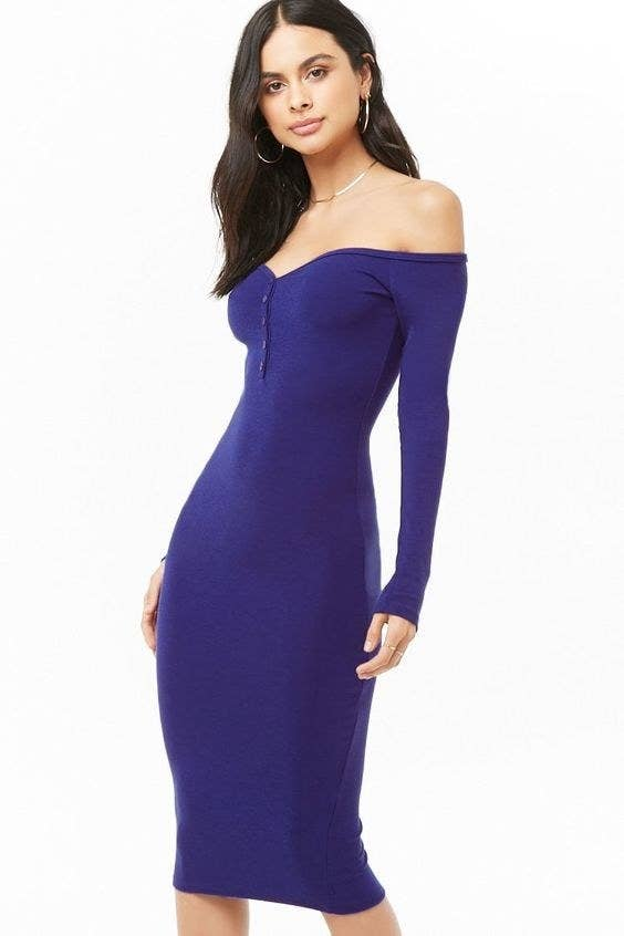 8079e0e430 Promising review   quot This dress fits perfectly and looks exactly as  pictured. The. Forever 21