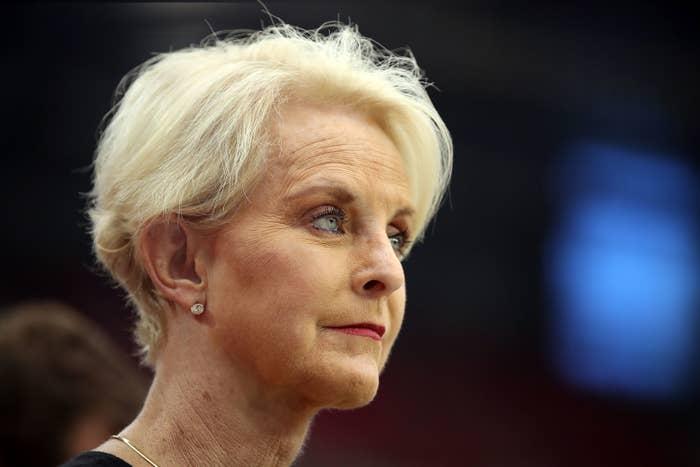 Cindy McCain in 2018 in Glendale, Arizona.