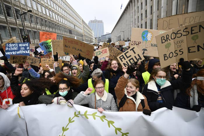 A Huge Climate Change Movement Led By Teenage Girls Is Sweeping Europe. And It's Coming To The US Next.