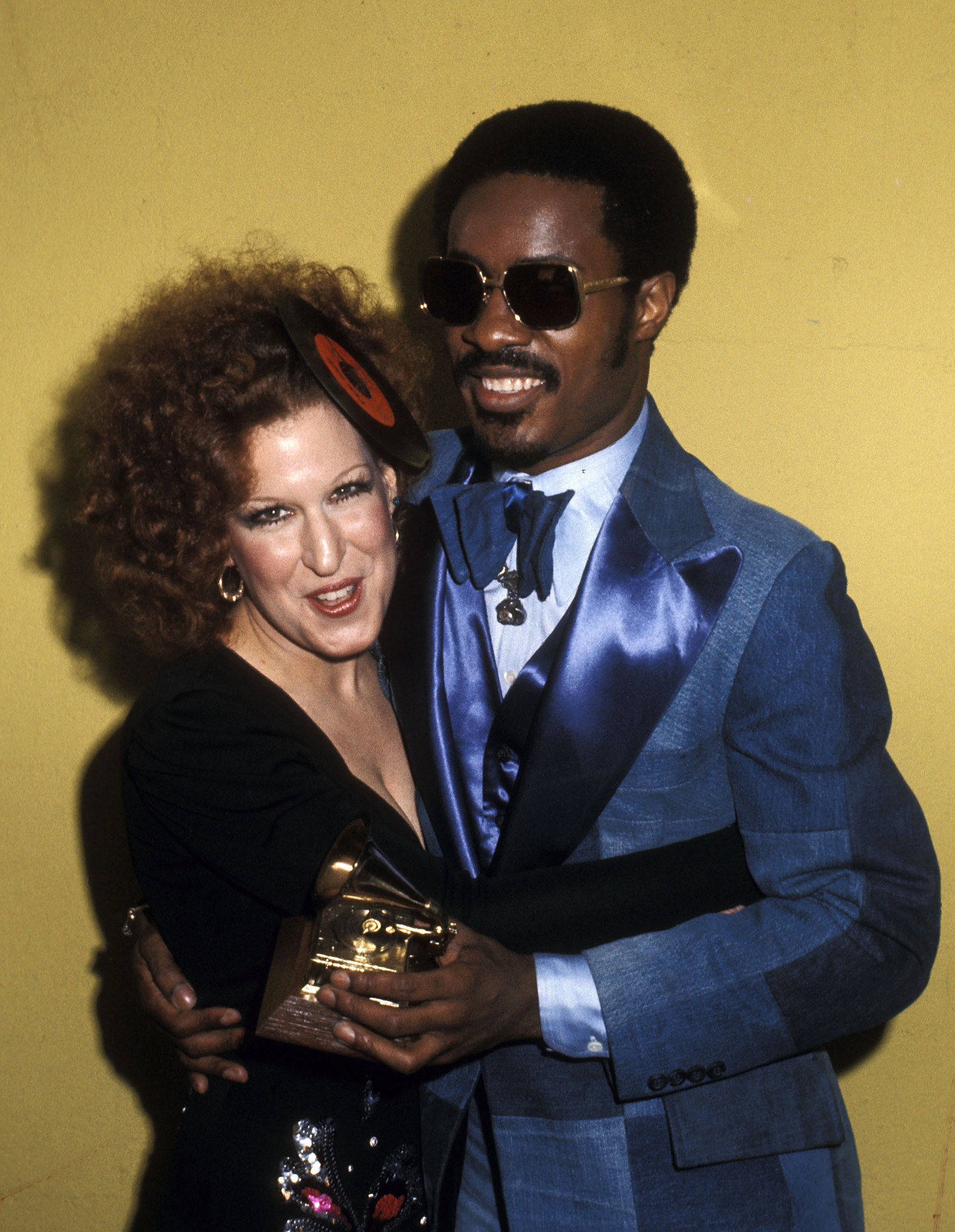 Also, that's Stevie Wonder in the picture with her. Also also, her fellow nominees were Eumir Deodato, Maureen McGovern, Marie Osmond and Barry White.