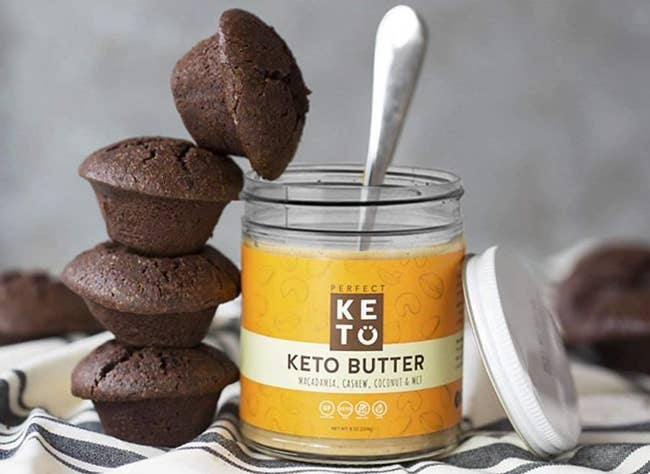 """Promising review: """"This stuff is DELICIOUS! Straight out of the box it is runny. You have to PUT IT IN THE FRIDGE. But after a few hours it is a perfect creamy nut butter consistency."""" —Jlbhw5Price: $18.02"""