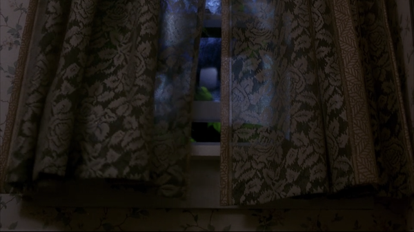 What happens in the movie: The wind starts blowing the curtains out of nowhere, foreshadowing the death of Todd, one of the plane survivors. Why I'm traumatized:IDGAF what you say, there's something creepy about curtains just billowing in the wind. Can't really explain it – I just KNOW it exudes bad juju.