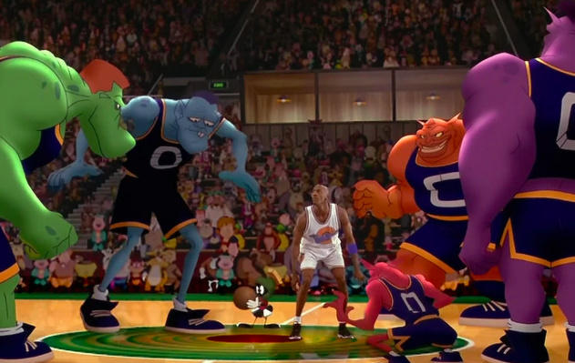 "Marvin the Martian was chosen to be the basketball referee in Space Jam because he is both a toon AND an alien, and is therefore the ""most impartial."""