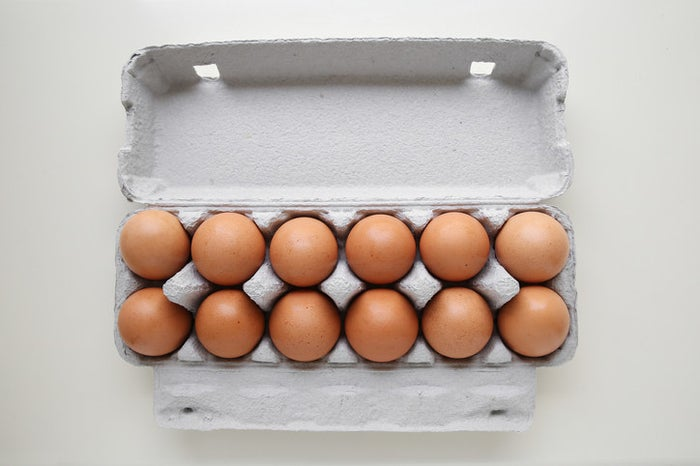 """Why? Because, as Child explains, """"the yolk stands high, the white clings to it in a cohesive mass, and only a small amount of watery liquid falls away from the main body of the white."""""""