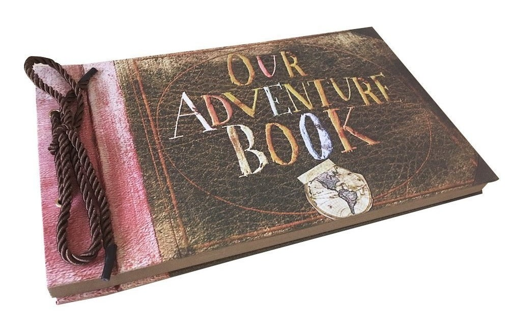 book that says our adventure book