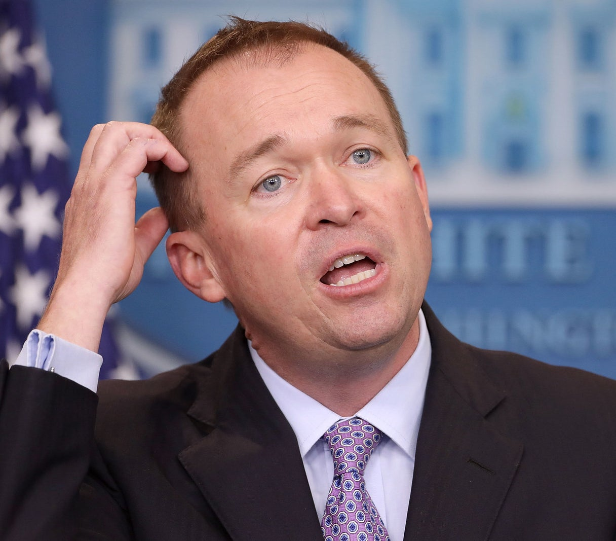 Office of Management and Budget Director and acting White House Chief of Staff Mick Mulvaney