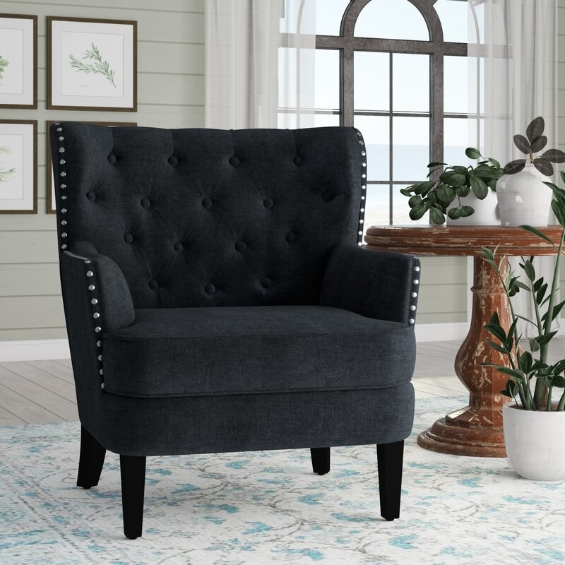 """Promising review: """"LOVE these chairs!!! They look amazing in my home and are exactly as pictured only BETTER!! A little stiff but I'm sure after some use will be comfortable. Very easy to assemble the feet and very well packaged. PERFECT!!!"""" —KerriePrice: $264.99 (originally $999.99, available in seven colors)"""