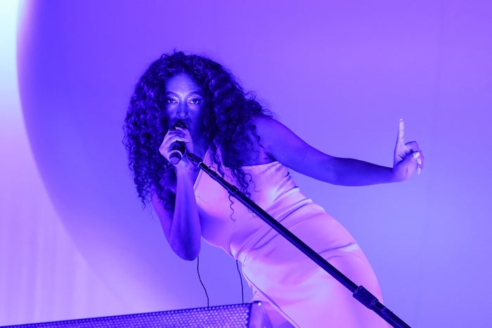 Solange performing at the Latitude Festival, July 13, 2018, in Southwold, England.