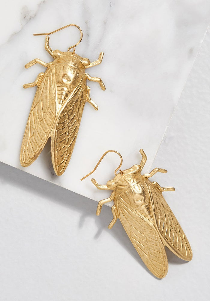 Ahh, the sound of summer: Millions of bugs screeching.Get them from ModCloth for $29.