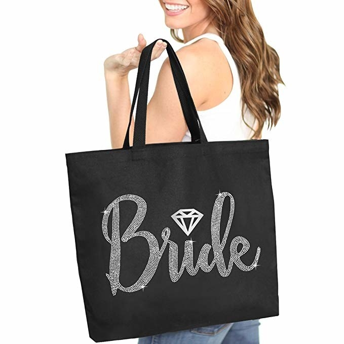 I Love My Husband Wedding Marriage Funny Shopping Tote Bag For Life Ladies Gift