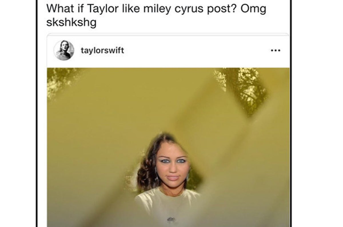 17 Reactions To Miley Cyrus Bonkers Tweet About Taylor Swift