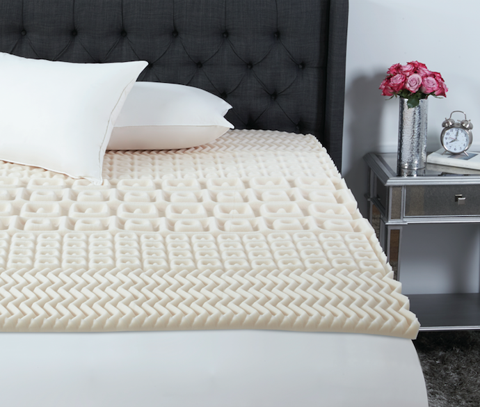 """Promising review: """"This is AWESOME. I highly recommend it. I slept like a baby. I have a firm spring mattress and I was having pains in my hip I also put a slightly padded mattress cover over it. I can't tell you how comfortable this has made my bed I actually don't want to get out of the bed now that it's soft and pillowy. You will not regret this purchase!"""" —RealConsumerReviewPrice: $19.70+ (available in sizes twin–King)."""