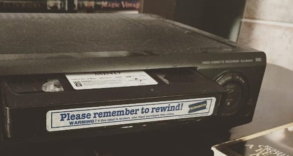Even though rewinding it wasn't the end of the world, it was always a little disappointing when you had to do it.