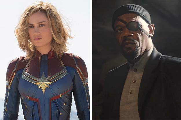 """This """"Captain Marvel"""" Detail Now Has Me Questioning Everything About Nick Fury"""