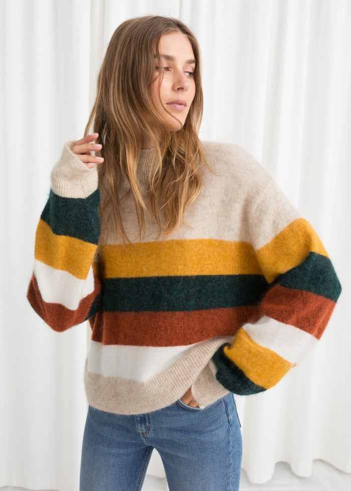 ♫ One with a (faux) turtleneck, that's the kind. ♫Get it from & Other Stories for $99 (available in sizes XS–L).