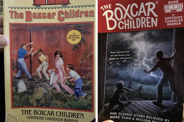 15 Popular Children's Book Covers Back In The Day Vs. Now