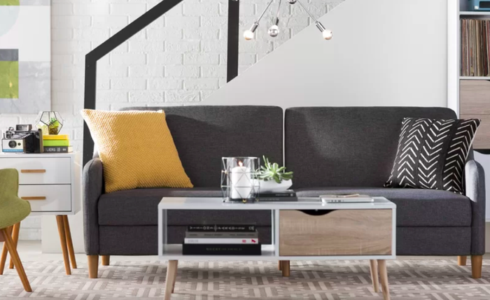 Styles: A huge selection of sofas in everything from velvet to leather. Prices: Loveseats for $113.99+ and sleeper sofas for $168.Shipping: Free shipping to your door on orders over $49 and upgrade options available. Get this convertible sleeper sofa for $389.99+ (available in four colors).