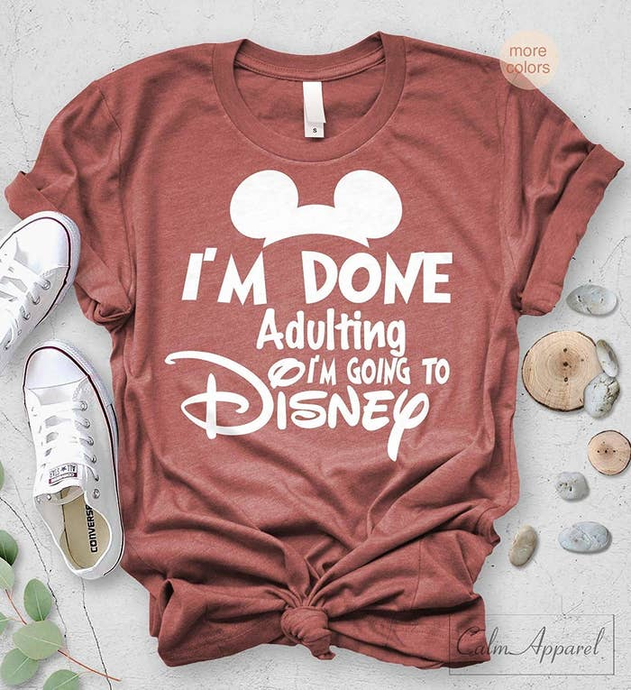 19562c6b8 A relatable shirt you can put on the second you leave the office and  mentally check into your Disney trip.