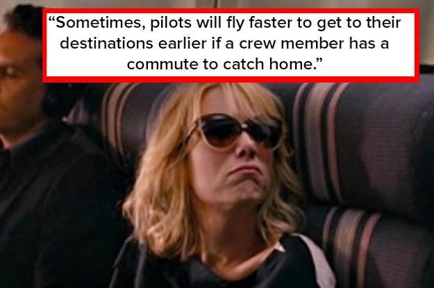 Pilots And Flight Attendants Are Sharing Their Mid-Flight