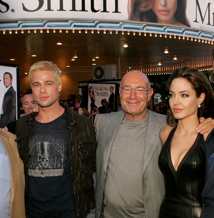 In the above picture, the two are pictured at the 2005 premiere of the movie with Producer Arnon Milchan.