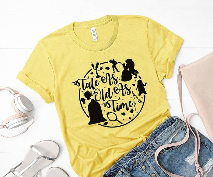 6f9fb8240ed8 A Beauty and the Beast shirt complete with Lumiere
