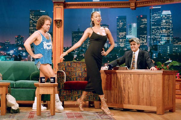 On the leno show