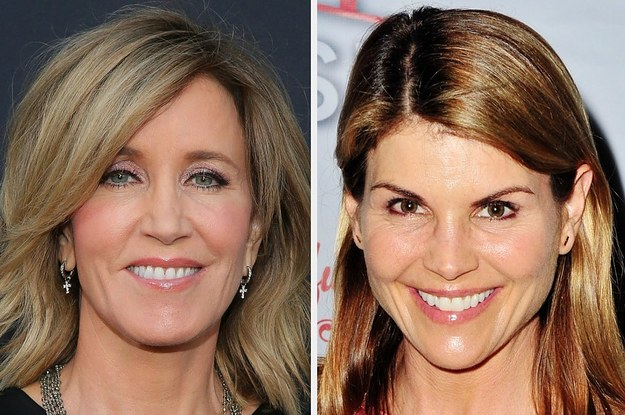 Felicity Huffman And Lori Loughlin Are Among Dozens Charged In A Massive College Admissions Scam