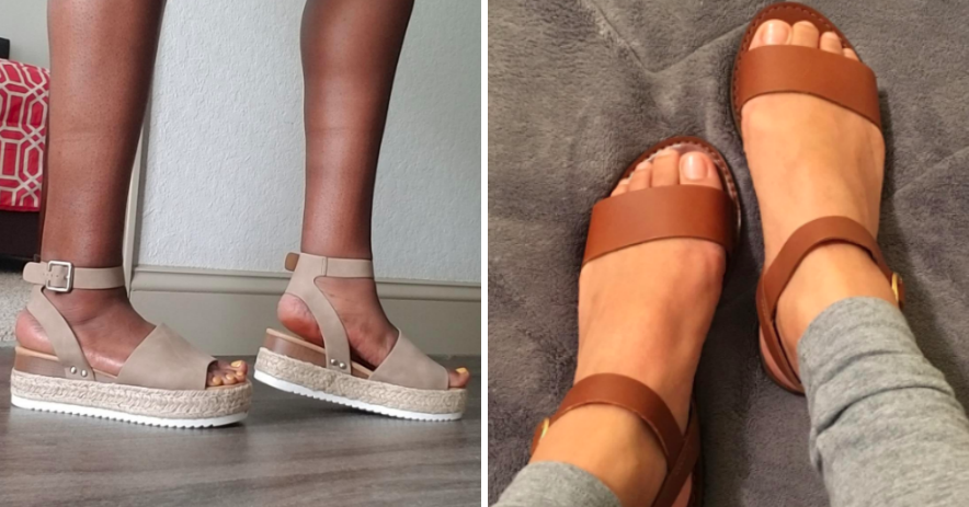 30 Stylish Sandals From Amazon That You'll Actually Want To Wear