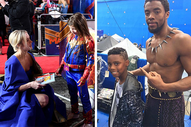 These 21 Photos Of Kids Meeting Their TV And Movie Heroes Will Warm Your Heart