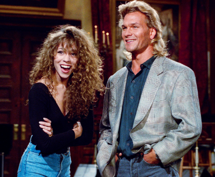 on snl with patrick swayze