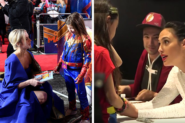 I Literally Can't Stop Crying Over These 21 Photos Of Kids Meeting Their TV And Movie Heroes