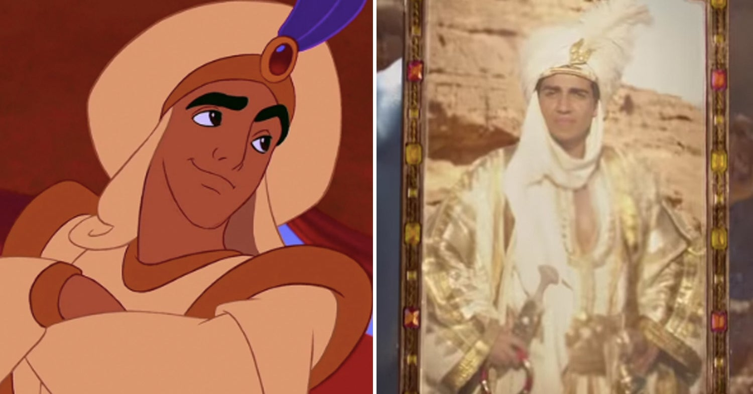 """Here's How The """"Aladdin"""" Remake Compares Side-By-Side With The Original"""