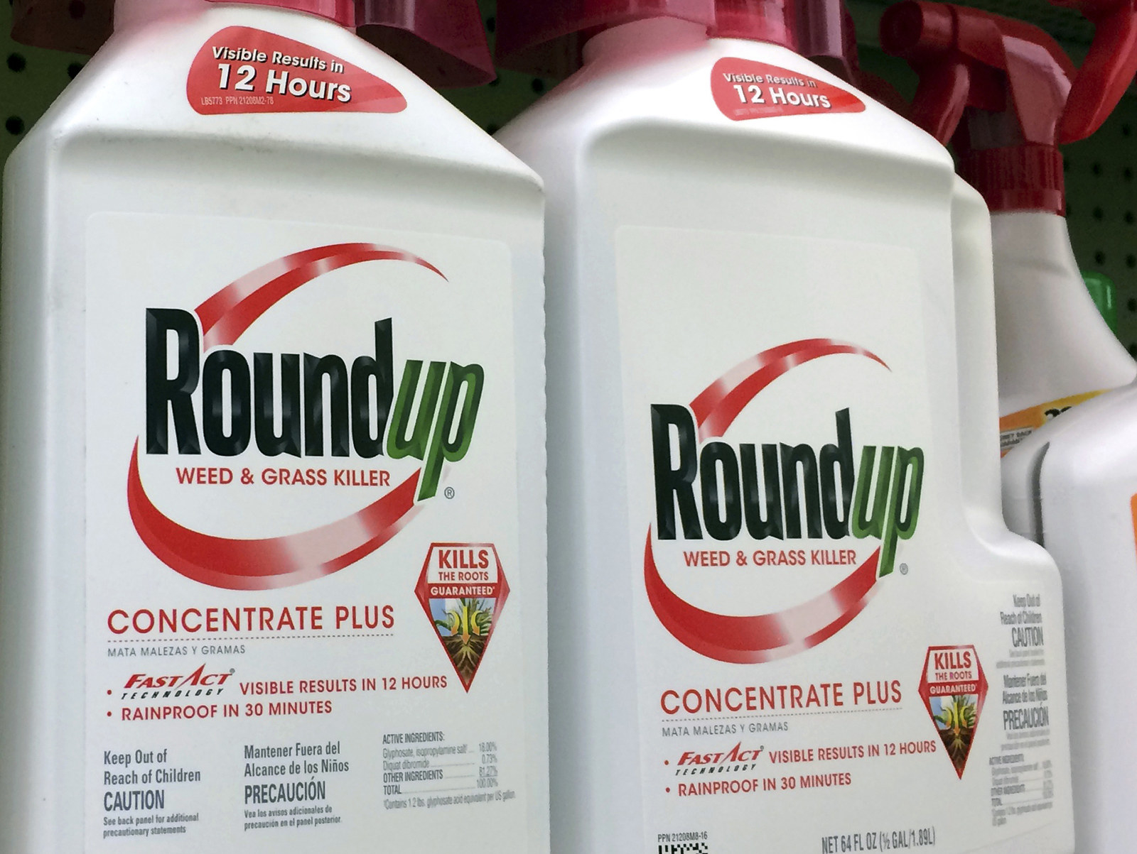 Jury Finds Monsanto's Roundup Weed Killer Caused California Man's Cancer