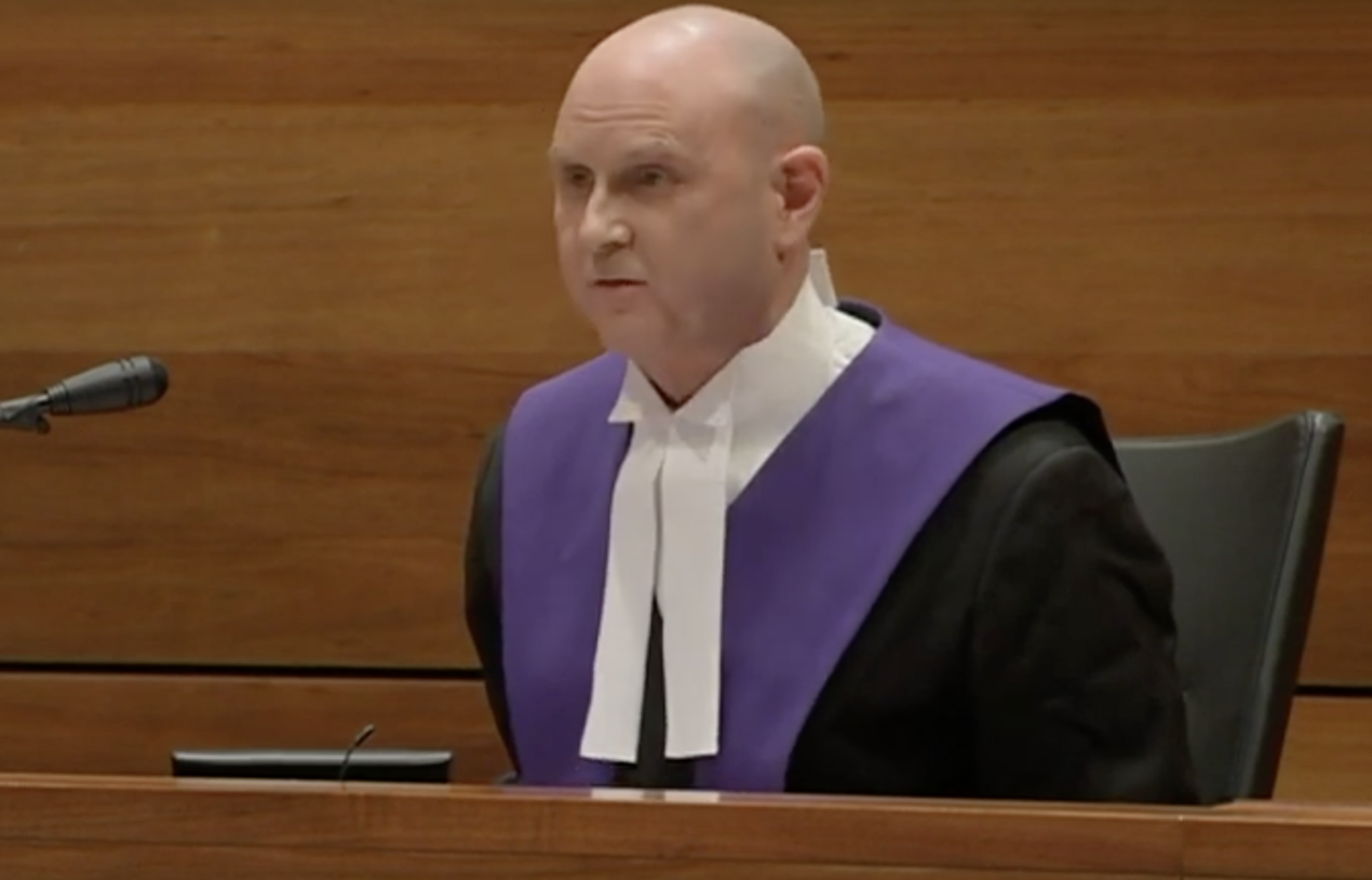 Judge Peter Kidd.