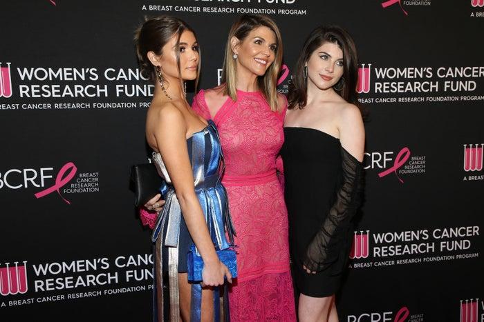 Olivia Jade Giannulli, Lori Loughlin, and Isabella Rose Giannulli.