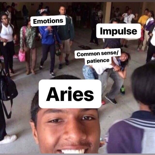 """19 Memes That'll Make Every Aries Say """"That's Me"""""""