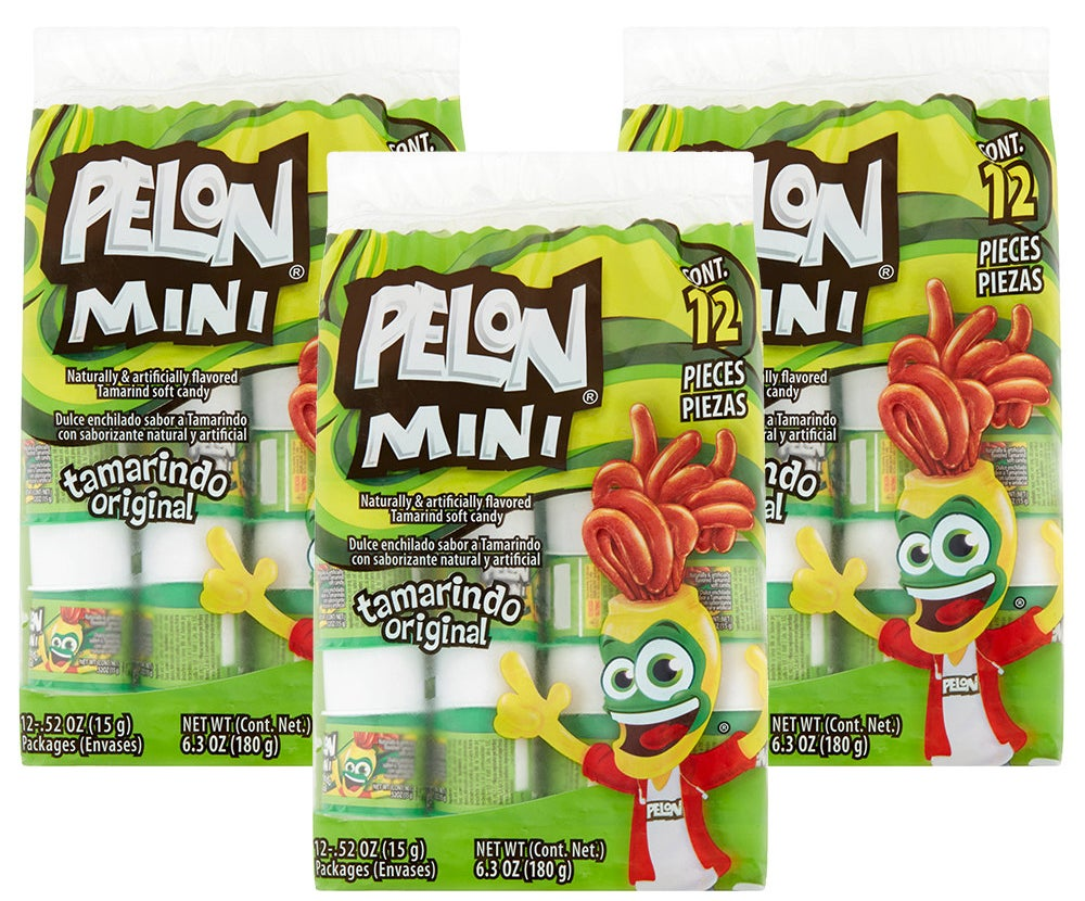 "Promising review: ""Fun candy! My son loves the container and the tamarind flavor — it's not too sweet and not spicy. He doesn't like candies too much, but this one is great. Just tamarind and sour flavor."" —NaomiPrice: $7.09 (for three packs of 12)"