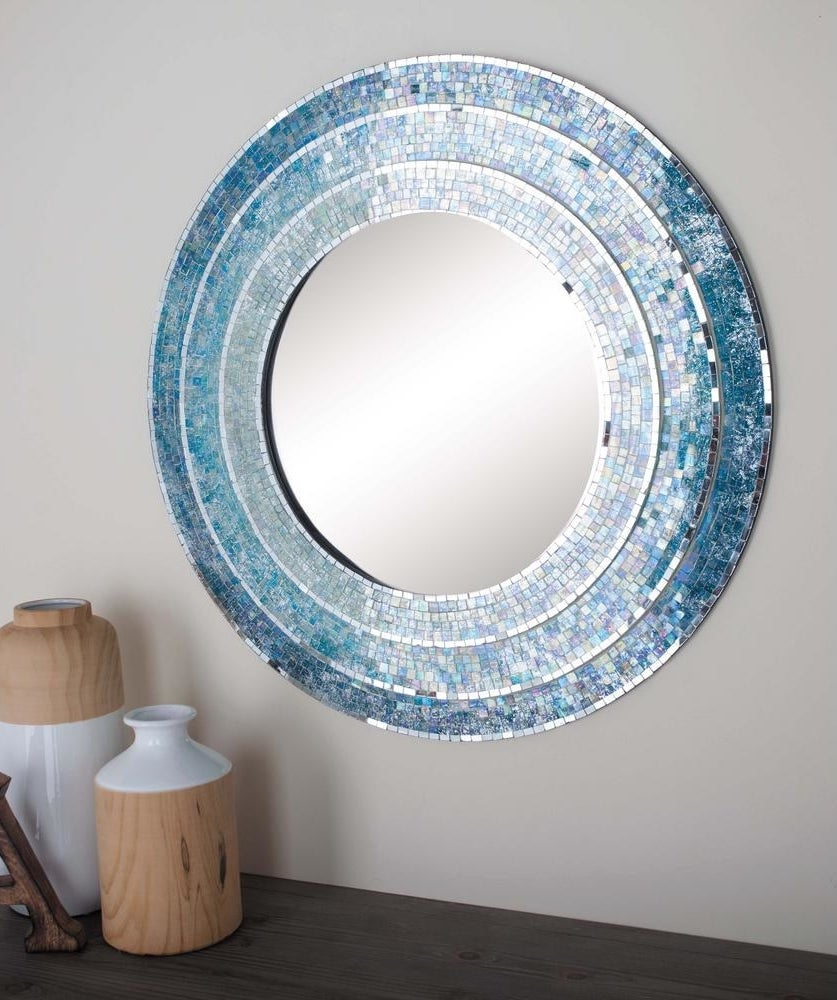 """Promising review: """"The picture does not do this mirror justice at all. It is beautiful! All the colors just flow and glow together. You see speckles of all types of colors. Just stop thinking and buy it already."""" —StarPrice: $87.95 (originally $109.94, available in five colors)"""