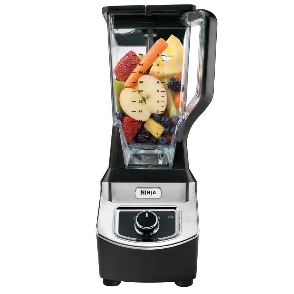 """Promising review: """"Easy and powerful. The secret weapon to this blender are the blades. This blender works effortlessly and is quiet. I like the way the top locks on, with simple controls. There is a companion book that has wonderful recipes and references speed settings. Please be careful in handling and cleaning the blades; they're sharp!"""" —alwaysathomedepotPrice: $63.88 (originally $77.97)"""